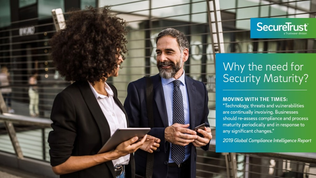 what is the need for security maturity